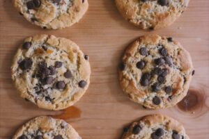 Quick and Healthy Chocolate Chip Cookies