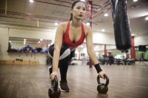 Full Body Tabata Workout with Kettlebells